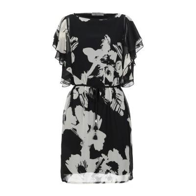 MARELLA ミニワンピース&ドレス ブラック 42 ポリエステル 100% ミニワンピース&ドレス