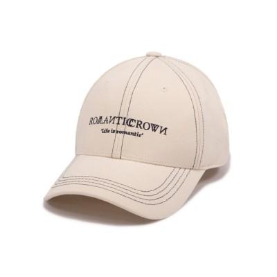 WANT SLIP / 【ROMANTIC CROWN】RMTCRW BASIC BALL CAP / ロマンティッククラウン ベーシック ベースボール キャップ MEN 帽子 > キャップ
