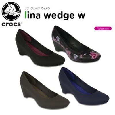 クロックス(crocs) クロックス リナ ウェッジ ウィメン(crocs lina wedge w)[C/A]