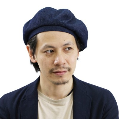 DENIM BERET 【Au Vrai Chic オウヴライシック】 メンズ  デニム ベレー帽