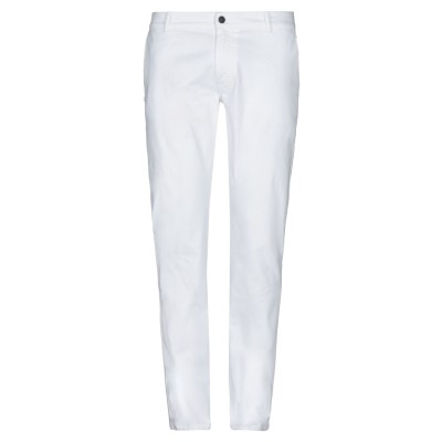 グレイ ダニエレ アレッサンドリーニ GREY DANIELE ALESSANDRINI パンツ ホワイト 34 コットン 98% / ポリウレタン