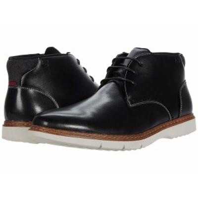 ステイシーアダムス メンズ ブーツ&レインブーツ シューズ Sentinel Chukka Boot Black
