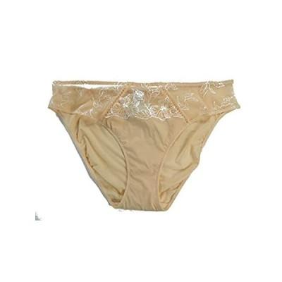 Lise Charmel Antinéa Embroidered Bikini Panty, Beige (Large)好評販売中