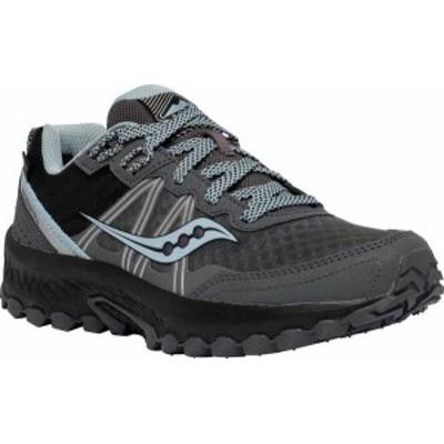 サッカニー レディース スニーカー シューズ Excursion TR14 GORE-TEX Trail Running Sneaker Charcoal/Blue