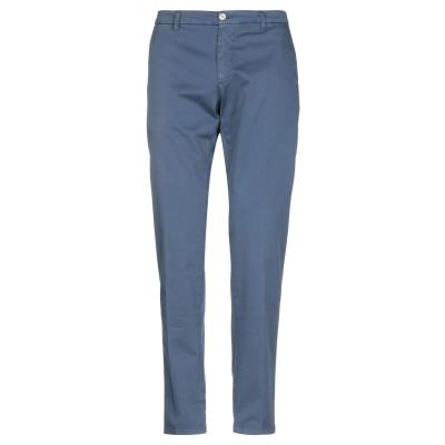 マニュエル リッツ MANUEL RITZ パンツ ブルー 56 コットン 98% / ポリウレタン 2% パンツ