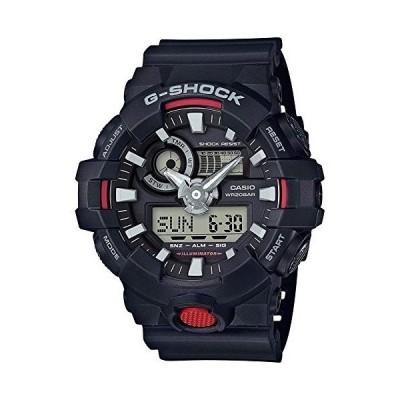 腕時計 カシオ メンズ GA-700-1ACR Casio G Shock Quartz Watch with Resin Strap, Black, 25.8 (Model: GA7