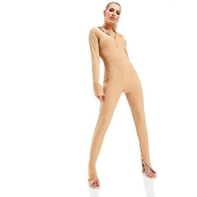 アズユー AsYou レディース オールインワン ジャンプスーツ ワンピース・ドレス Asyou Casual Lounge Jumpsuit In Pink ピンク