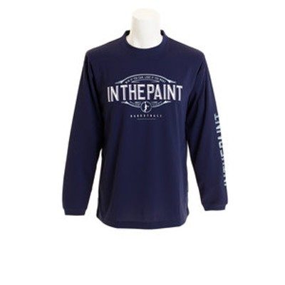 Tシャツ メンズ 長袖 IN THE PAINT ITP18401NVY