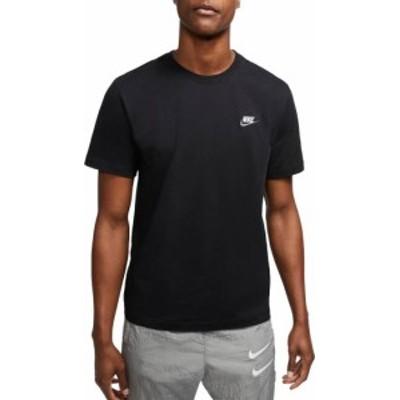 ナイキ メンズ Nike Men's Sportswear Club T-Shirt Tシャツ 半袖 BLACK/WHITE/DARK GREY