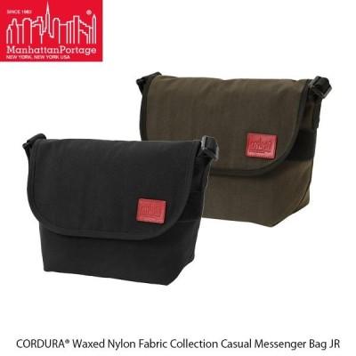 マンハッタンポーテージ Manhattan Portage メッセンジャーバッグ Casual Messenger Bag JR CORDURA Waxed Nylon Fabric Collection MP1605JRWXN 国内正規品