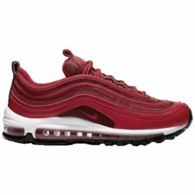 (取寄)ナイキ レディース エア マックス 97 Nike Women's Air Max 97 University Red Gym Red Black White