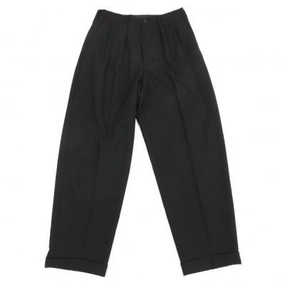 ワイズフォーメンY's for men ウールツータックパンツ 黒M 【メンズ】