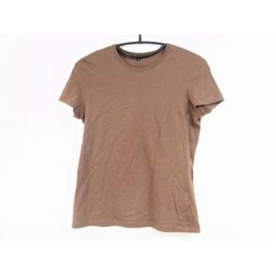 グッチ GUCCI 半袖Tシャツ サイズM レディース 美品 - ブラウン クルーネック【中古】20201228