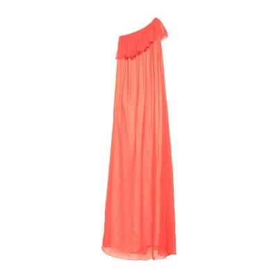 ジャッカ JUCCA ロングワンピース&ドレス オレンジ 38 レーヨン 100% ロングワンピース&ドレス