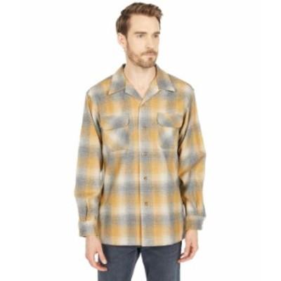 ペンドルトン メンズ シャツ トップス Board Shirt Classic Fit Tan/Grey/Gold O