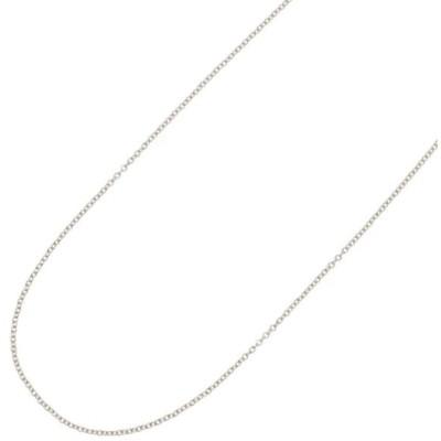 ネックレスチェーンのみ 45センチ サージカルステンレス316L製 低金属アレルギー メタル アズキ かわいい シンプル レディース プレゼント