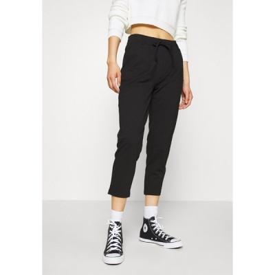 エブンアンドオッド カジュアルパンツ レディース ボトムス BASIC - Punto Joggers - Trousers - black