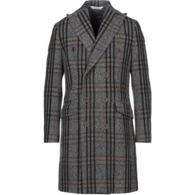 ボッテガ マルティネーゼ BOTTEGA MARTINESE メンズ コート アウター coat Grey