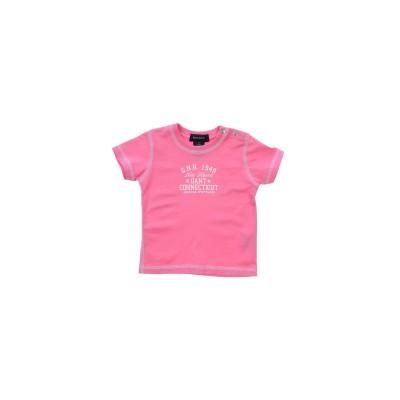 ガント GANT T シャツ ライトパープル 9 コットン 100% T シャツ