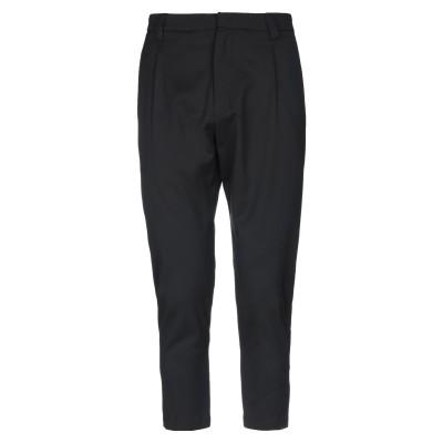 LOW BRAND パンツ ブラック 31 バージンウール 54% / ポリエステル 45% / ポリウレタン 1% パンツ
