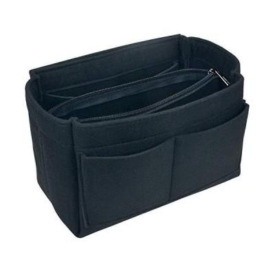 YIICOOLY バッグインバッグ トラベルバッグ 小物入れ 収納バッグ フェルトバッグ マルチバッグ レディース 大容量 トート 収納 軽