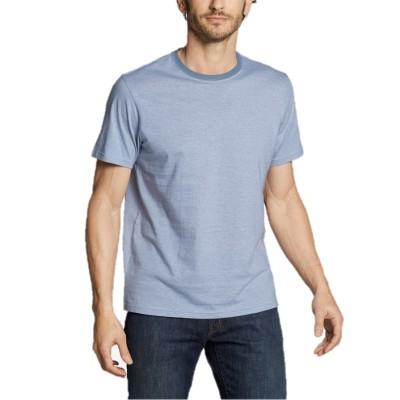 メンズ 半袖レジェンドウォッシュプロストライプクルーTシャツ