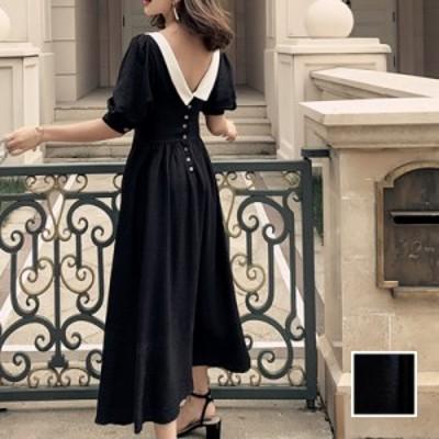 韓国 ファッション レディース ワンピース パーティードレス ロング マキシ 春 夏 パーティー ブライダル naloJ918 結婚式 お呼ばれドレ