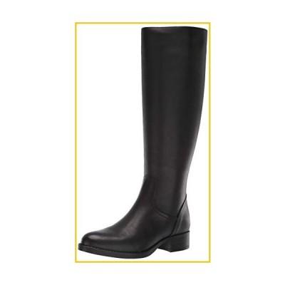Steve Madden Womens Jasper Leather Riding Boots Black 5.5 Medium (B,M)