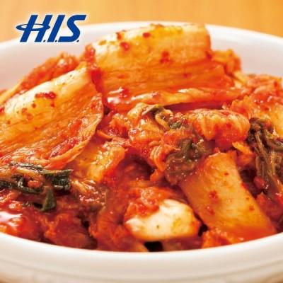 韓国 お土産 タッパー入り白菜キムチ 6パックセット  (直送品)  おみやげ ギフト HIS ID:95348030