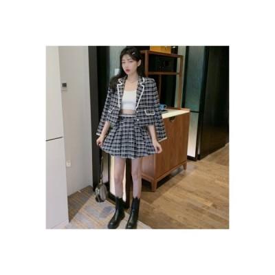 【送料無料】秋 気質 スクエアネック 何でも似合う 長袖スーツ アウターウェア ハイ | 364331_A63581-6391118