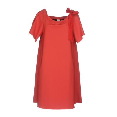 ピンコ PINKO ミニワンピース&ドレス レッド 40 78% ナイロン 22% ポリウレタン ポリエステル ミニワンピース&ドレス