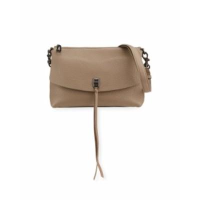 レベッカミンコフ レディース ショルダーバッグ バッグ Darren Top-Zip Shoulder Bag MEDIUM BROWN