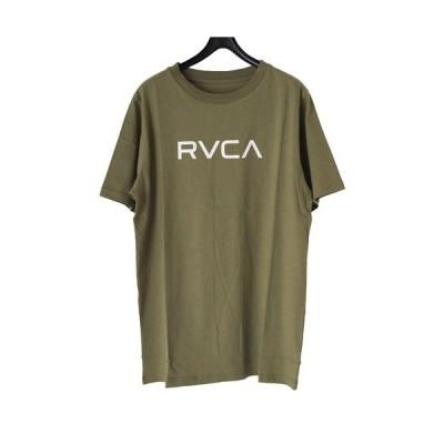 RVCA ルーカ レディース 半袖 Tシャツ メンズ 男女兼用 ユニセックス BIG RVCA SS TEE ba043-224 ビッグ オーバー サイズ シルエット