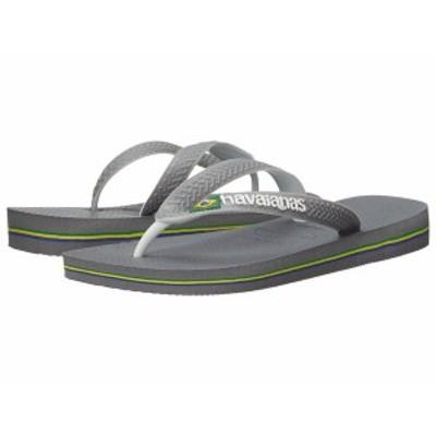 ハワイアナス レディース サンダル シューズ Brazil Mix Flip Flops Steel Grey/White/White