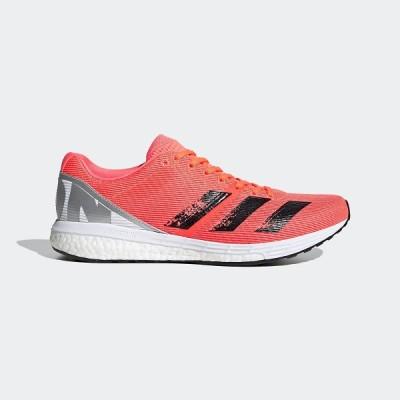 adidas アディダス adizeroBoston8m HJ629 EG7893 ランニングシューズ メンズ メンズ シグナルコーラル/コアブラック/フットウェアホワイト セール 送料無料