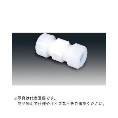 フロンケミカル PTFEスリーシール式I型ジョイント 6φ ( NR1089-001 ) (株)フロンケミカル