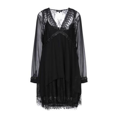 MY TWIN TWINSET ミニワンピース&ドレス ブラック XS レーヨン 95% / ポリウレタン 5% / コットン / ナイロン ミニワ