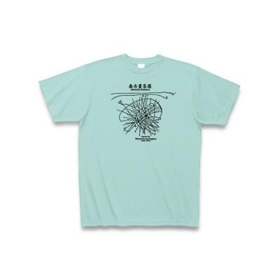 学問Tシャツ:南方マンダラ(南方曼荼羅)_黒:南方熊楠:植物・粘菌・仏教