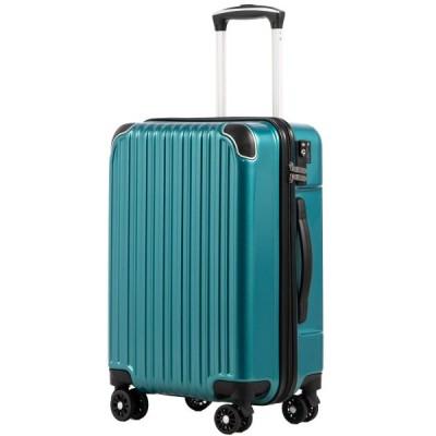 [クールライフ] COOLIFE スーツケース キャリーバッグダブルキャスター 二年安心保証 機内持込 ファスナー式 人気色 超軽量 TSAローク (S サイズ(機内持ち込み)