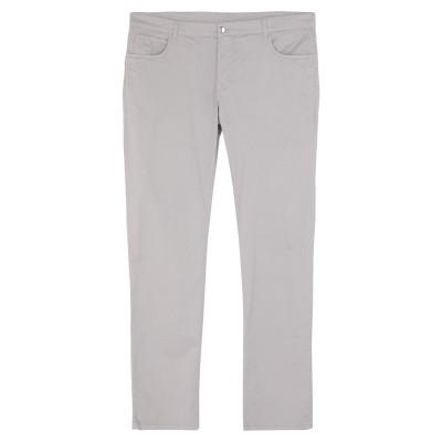 レ コパン LES COPAINS パンツ ライトグレー 56 コットン 98% / ポリウレタン 2% / 革 パンツ