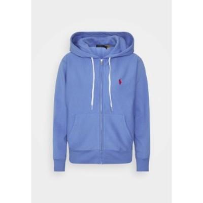 ラルフローレン レディース パーカー・スウェットシャツ アウター FEATHERWEIGHT - Zip-up hoodie - harbor island blue harbor island b
