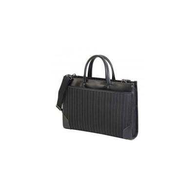 LINAGINO タイプDJ ストライプW ブリーフケース 22-5304 ブラック