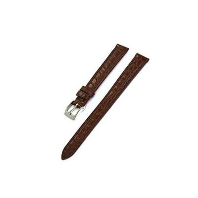 CASSIS[カシス] アリゲーター(ワニ革) 時計ベルト RIOM matt リオンマット 12mm ダークブラウン 交換用工具付き D0000A68