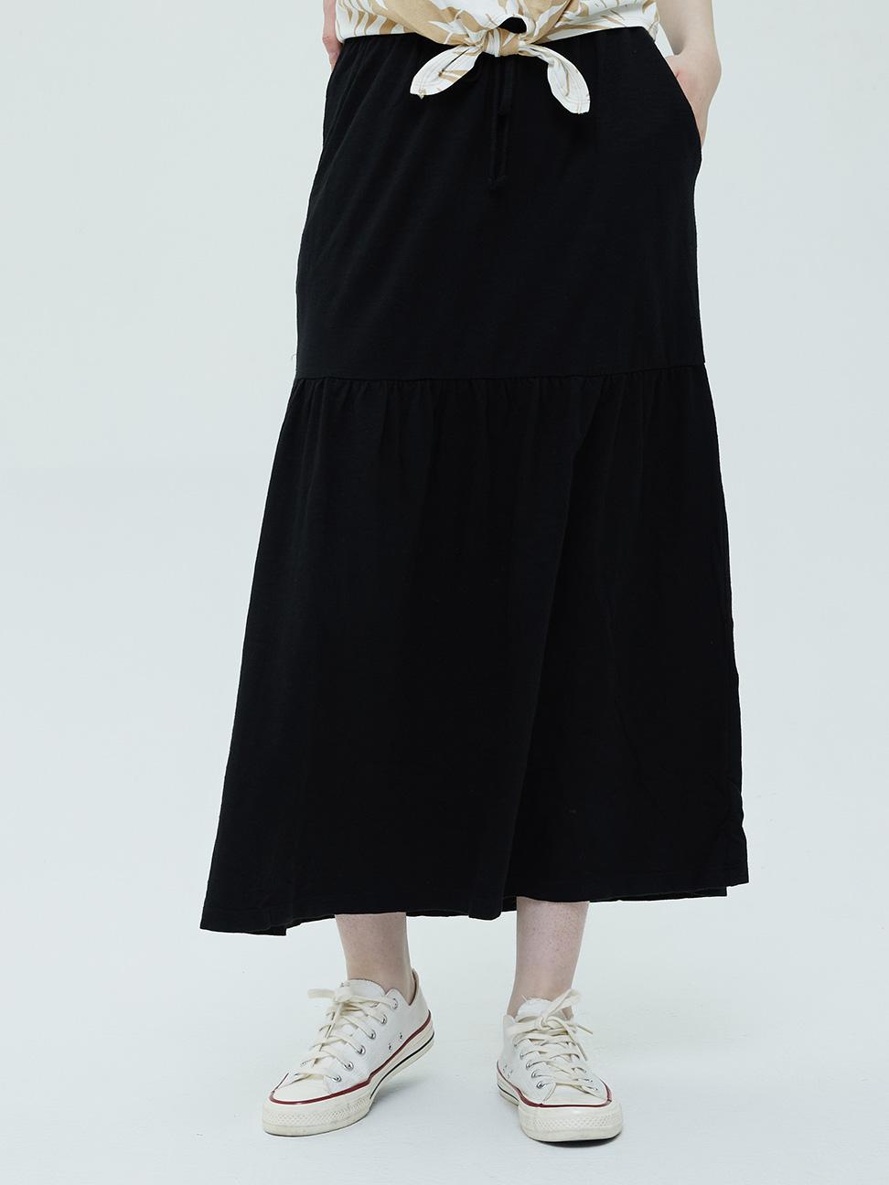 女裝 莫代爾透氣寬鬆繫帶長裙