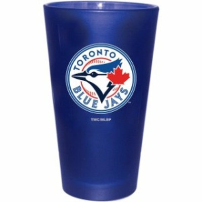 The Memory Company ザ メモリー カンパニー スポーツ用品  Toronto Blue Jays 16 oz. Team Color Frosted Pint Glass