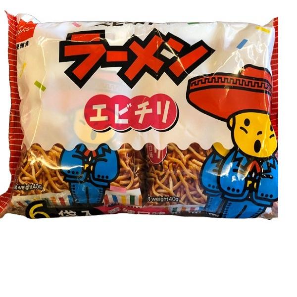 星太郎點心麵-中香辣分享包40gx6
