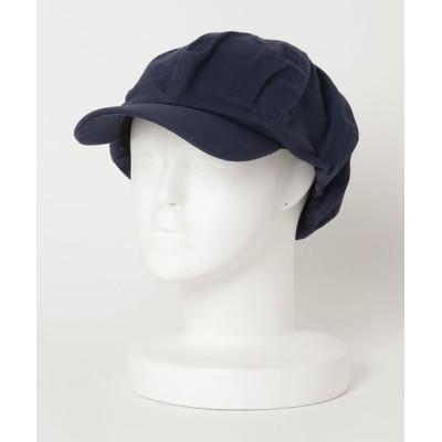 THE BAREFOOT / ∴HERRINBONE CAS / ヘリンボーン キャスケット MEN 帽子 > キャスケット