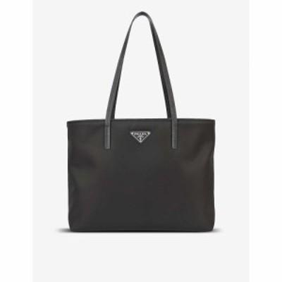 プラダ PRADA レディース トートバッグ ナイロン バッグ Brand-Plaque Nylon Tote Bag NERO