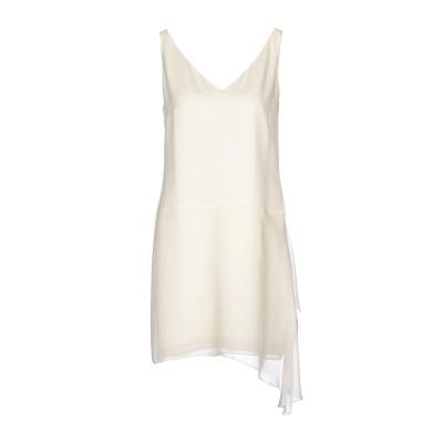 POLO RALPH LAUREN ミニワンピース&ドレス アイボリー 4 シルク 100% ミニワンピース&ドレス