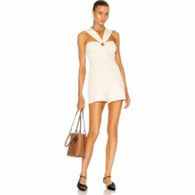 ステラ マッカートニー Stella McCartney レディース オールインワン ワンピース・ドレス Compact Knit Romper Magnolia